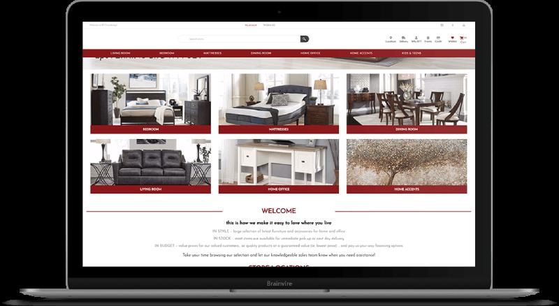 NopCommerce Solution for Home Decor Brand