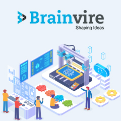 Brainvire Deploys Odoo to Increase Sales by 28% for a US-Based Leading Supplier of 3D Printers