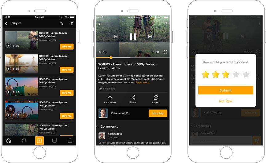 Digital Casting Platform for Artists and Filmmakers
