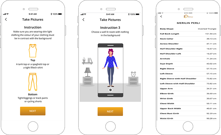 Advanced Mobile App for a Fashion Hub