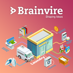 Brainvire Offered a One-Stop Solution to a Laundry Business Hub