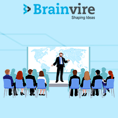 Brainvire Sponsored an Event at Vistage 2020