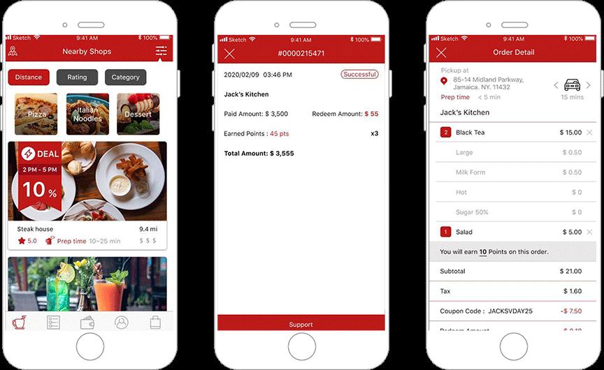 On-Demand Food Pickup App