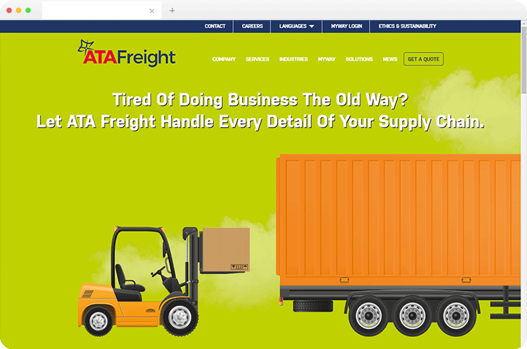 Brainvire Develops Multi-Domain CMS and Websites for a Leading Logistics and Freight Service Provider