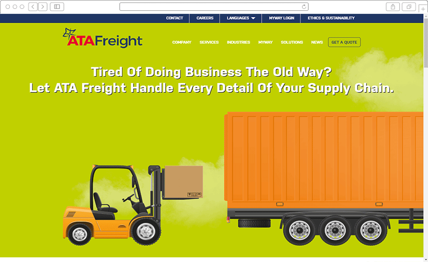 Multi-Domain CMS and Website Development for Logistics Service Provider