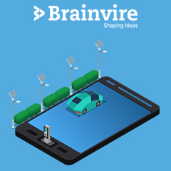 Onshore experience for Brainvire's team for implementation of Kuwait's leading Parking Management App