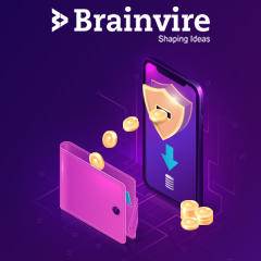 Brainvire's Mobile Wallet With eCommerce Capabilities for A Fintech Innovator