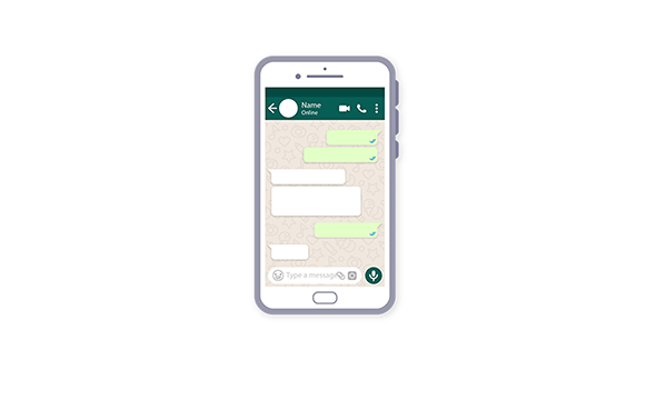 WhatsApp chat feature