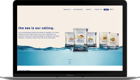 B2C eCommerce doorstep solution for seafood in Dubai