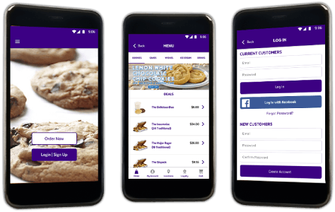 Enhanced Customer Service with an Updated Food Ordering App
