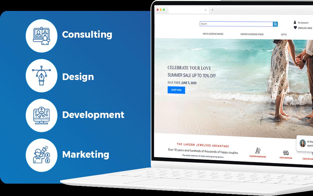 Full-service Magento Development Agency