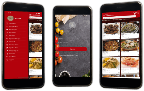 An App for Preparing Healthy Meals Using Limited Kitchen Ingredients