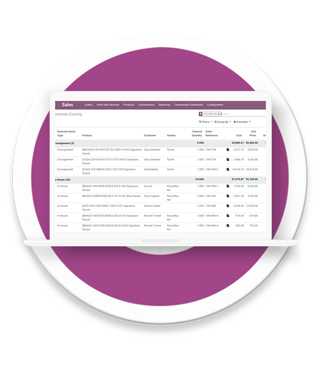 Odoo ERP Migration services