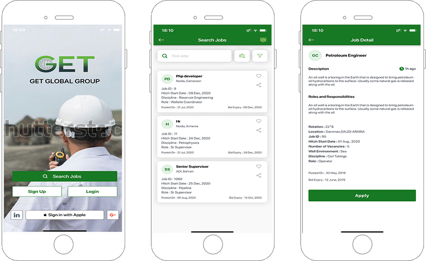 Unique Bidding App for Oil and Gas Industry Enables Job Providing Agency to Recruit Candidates Faster