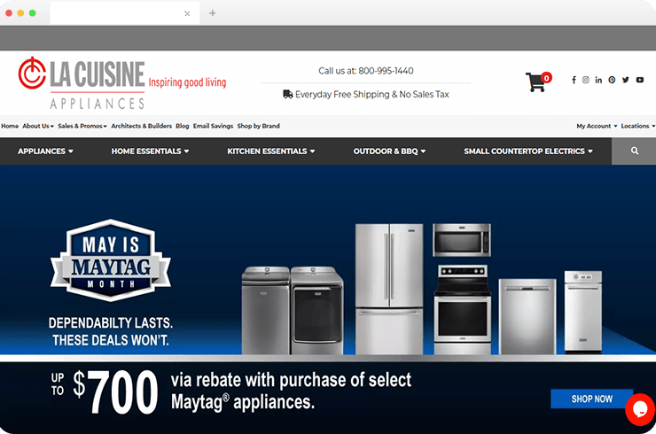 Brainvire Improves Conversions For Home Appliance Company With Digital Marketing Solutions