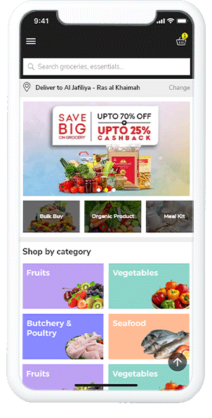 Now Purchase Groceries in A Few Taps!