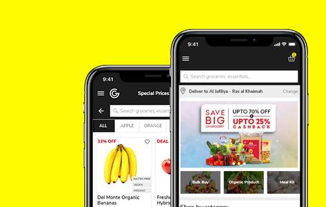 Omnichannel Solution for UAE groceries supermarket