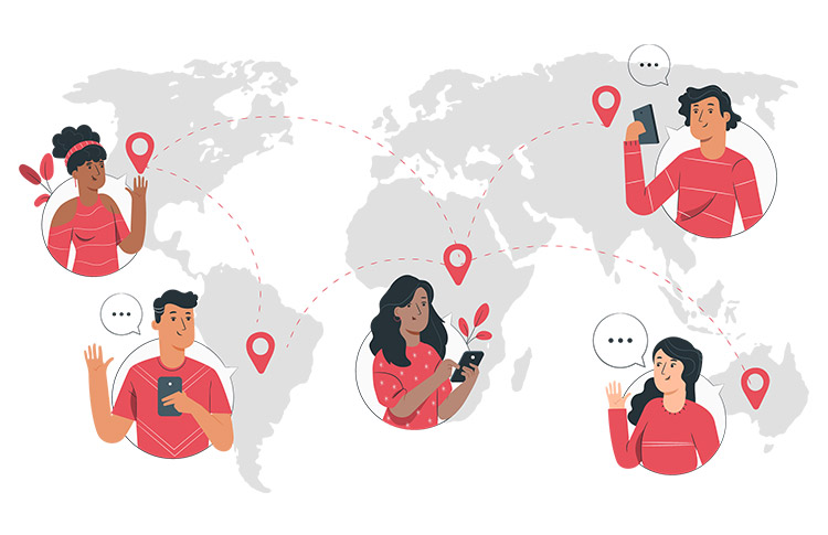 An Instant Messaging App Established Communication with Loved Ones Across Nations