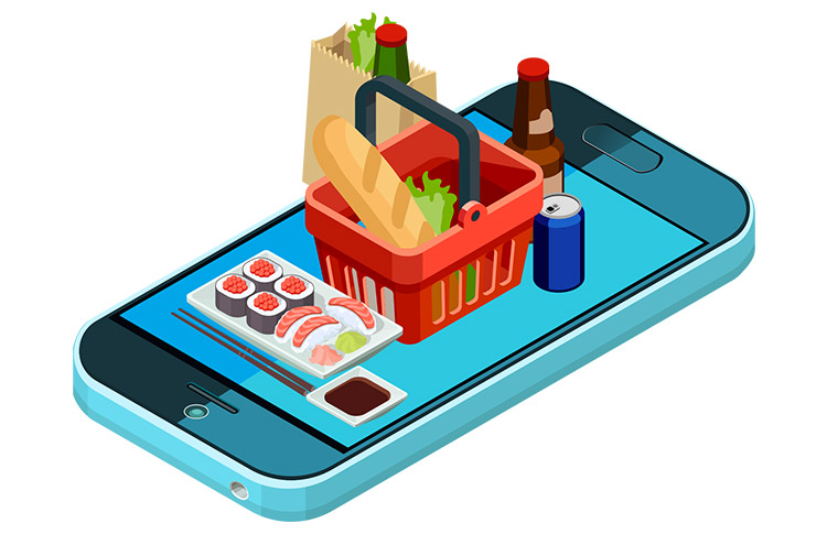 A Novel Marketplace To Purchase Food, Fresh Juices, And Other Essentials