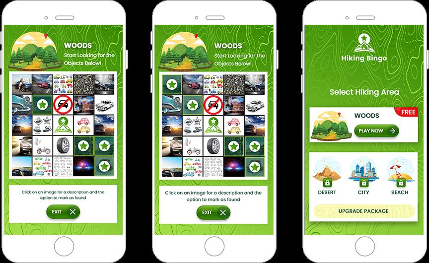 An Innovative Hiking-Bingo App Keeps Individuals Spellbound