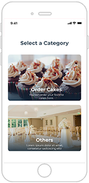 Select local bakeries based on events: