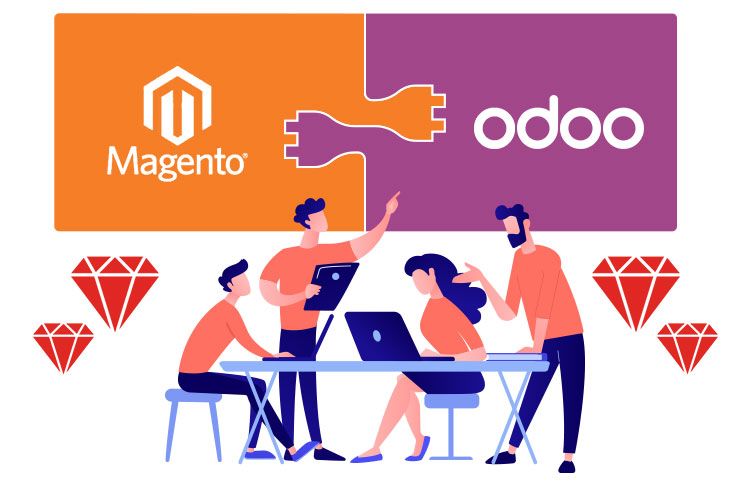 Magento and Odoo-ERP Integration realized an Immense Online Reach for a Prominent Jewellery Entity in the Covid-19 era