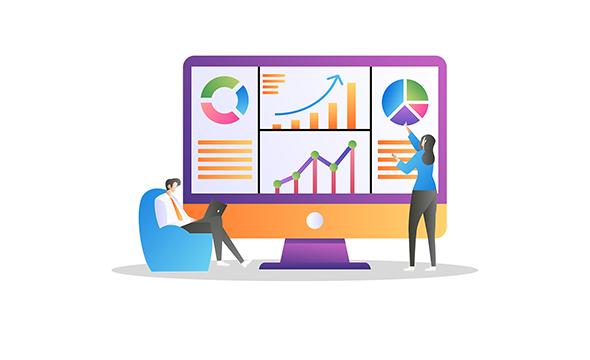 Generate quick analytics reports: