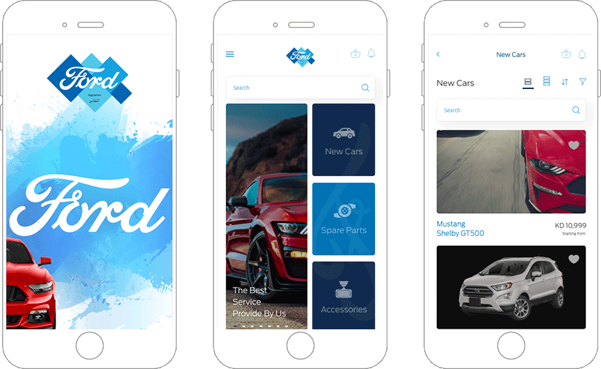 Ford Kuwait Offers Effective Online Car Services through App