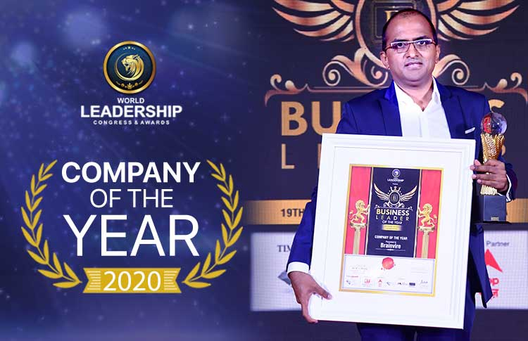 Amidst the COVID-19 Chaos, Brainvire was recognized as 'Company of the Year'