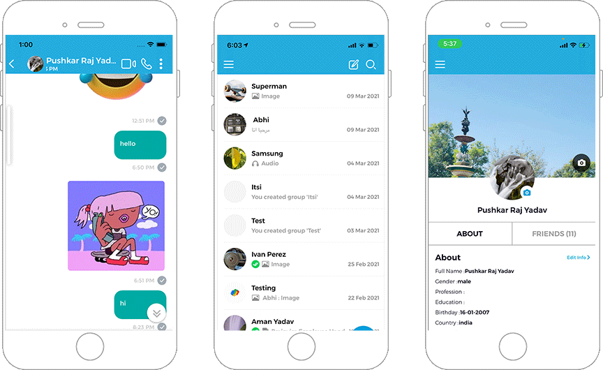 State-of-the-Art Mobile Chat App Gained Fandom