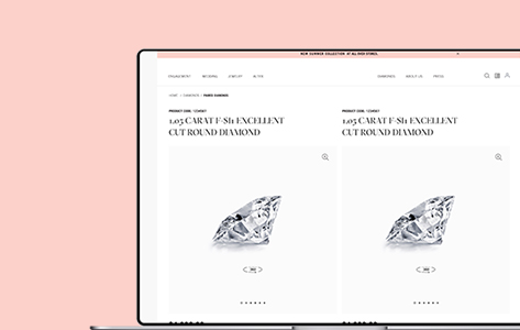 Custom-Built Marketplace to Unify Customers and Diamond Representatives