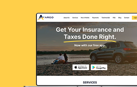 A US-Based Insurance Firm Transforms Into A Digital Web Service