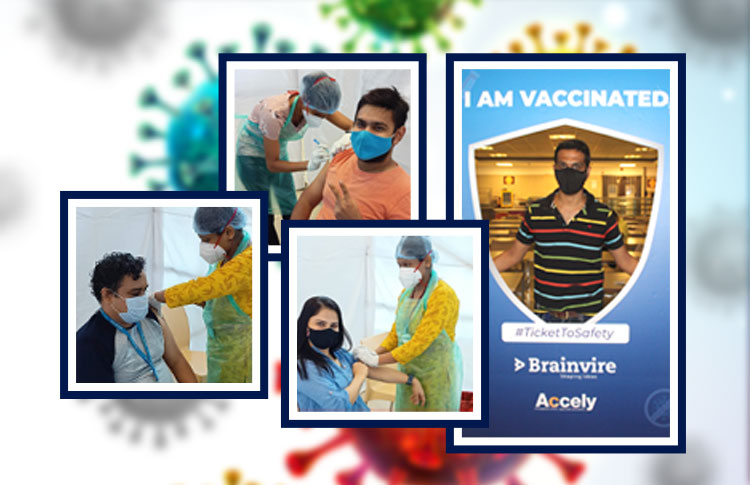 Brainvire Encourages Participation in the Covid-19 Vaccination Drive