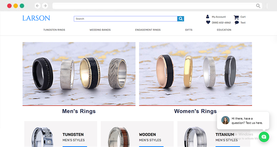 Larson Jewelers Engrave Transformation with Omnichannel Experience